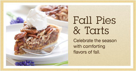 Fall pies & tarts